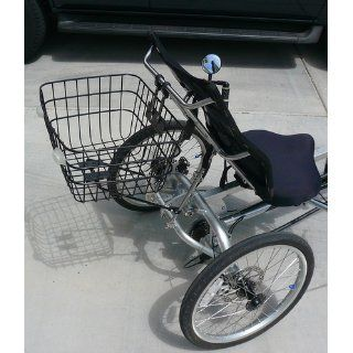 Sun Recumbent Bicycle Basket, Fits All Ez Model  Bike Baskets  Sports & Outdoors