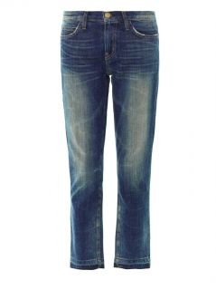 The Cropped low rise straight leg jeans  Current/Elliott  MA