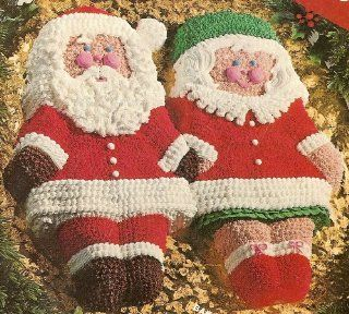 Mr. And Mrs. Santa Claus Cake Pans ~ Comes with Instructions ~ Set of 2 ~ Uses Wilton Doll Pans Kitchen & Dining