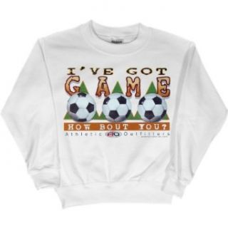 Youth Sweatshirt : I'VE GOT GAME   HOW ABOUT YOU?   ATHLETIC OUTFITTERS: Clothing