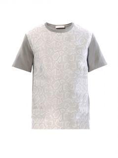 Snake effect jacquard T shirt  Richard Nicoll  MATCHESFASHIO