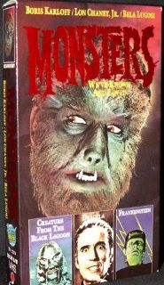 Monsters We've Known and Loved [VHS] Boris Karloff Movies & TV