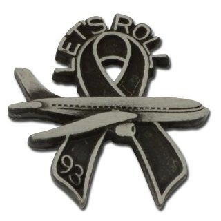 Let's Roll Flight 93 Lapel pin: Jewelry