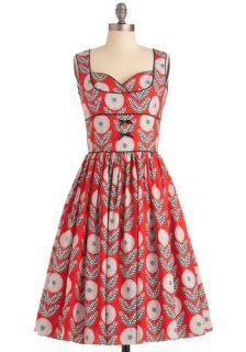 Bernie Dexter What a Dahlia Dress  Mod Retro Vintage Dresses