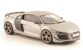 Audi R8 GT, met. mattgrey , Model Car, Ready made, Look Smart 143 Look Smart Toys & Games
