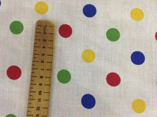 BBC CHILDREN IN NEED Spots Stripe cotton fancy dress outfit Dress Bunting Fabric PRESTIGE FASHION UK LTD (LARGE SPOTS)