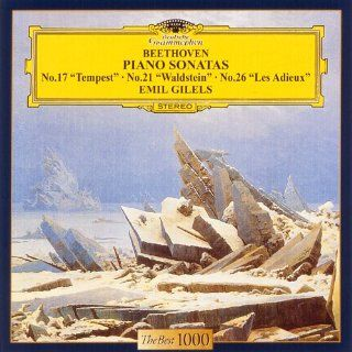 Emil Gilels   Beethoven: Piano Sonatas 'Der Sturm Waldstein Das Lebewohl [Japan LTD CD] UCCG 5049: Music
