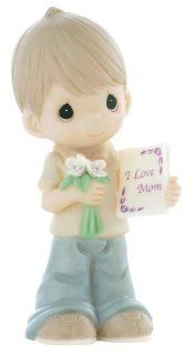 "Precious Moments ""Mom, Your Love Makes Me Blossom"" Figurine   Collectible Figurines"