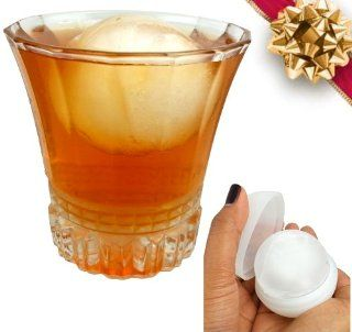 Ice Ball Mold   Steal These MASSIVE Ice Ball Makers *  TODAY ONLY * Get The Biggest, #1 Rated, Extra Thick Silicone, No Leak Ice Ball Maker by DeluxIce. Serve the Most HUGE 2.5+ Inch Ice Cube Sphere Balls at Your Next Party. Perfect in Whiskey, Sco