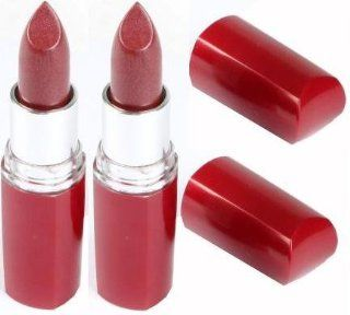Maybelline Moisture Extreme Lipstick #E200 RUBY LUSTER (Qty, of 2 Tubes)New/Discontinued/LIMITED  Beauty