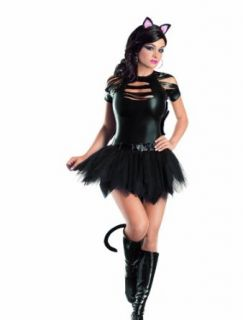 Escante Mean Kitty Petticoat Dress: Adult Exotic Apparel Accessories: Clothing