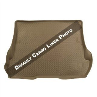 Husky Liners Custom Fit WeatherBeater Molded Rear Cargo Liner behind 2nd Seat for Select Hyundai Santa Fe Models (Tan) Automotive
