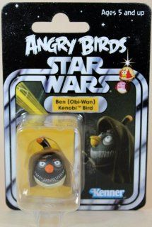 2013 SDCC Hasbro Exclusive Star War Angry Birds Ben Obi Wan Kenobi Bird   Carded  Other Products