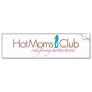 """Hot Moms Club Logo"" Bumpersticker Bumper Sticker"