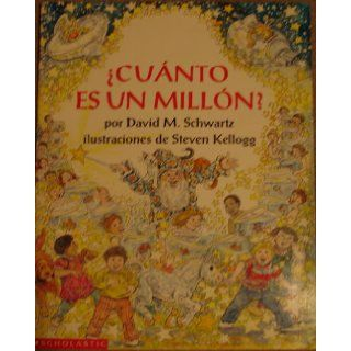 Cuanto Es Un Million?/How Much is a Million: 9780590728454: Books