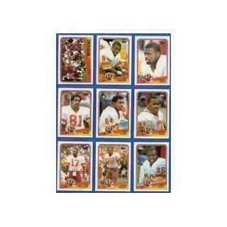 1988 Topps Redskins Team set   15 cards including: Doug Williams, George Rogers, Kelvin Bryant, Timmy Smith rookie, Art Monk, Gary Clark, Rickey Sanders rookie, Steve Cox, Joe Jacoby, Charles Mann, Dave Butz, Darrell Green, Dexter Manley, Barry Wilburn, an