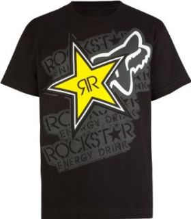 FOX Rockstar Dimension Boys T Shirt Fashion T Shirts Clothing