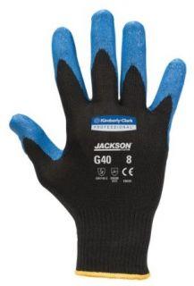 Jackson Safety G40 Nitrile Coated Glove, Medium, Blue (Case of 60 Pairs): Work Gloves: Industrial & Scientific