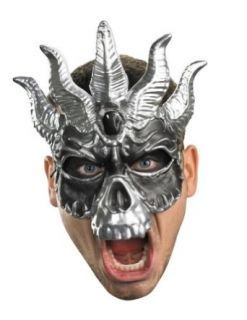 Scary Masks Skull Masquerade Mask Halloween Costume   Most Adults: Clothing