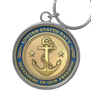 Navy Key Chain