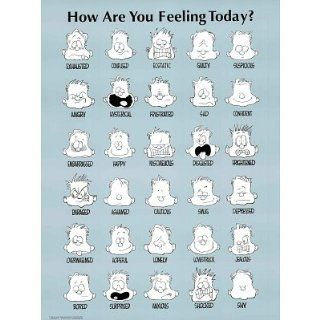 How Are You Feeling Today ? (POSTER PRINT)   Feelings Chart