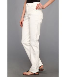 Levis® Womens 512™ Perfectly Slimming Straight Leg Jean White Highlighter w/ Modern Collage Heat Transfer