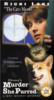 Murder She Purred: A Mrs. Murphy Mystery [VHS]: Ricki Lake, Linden Ashby, Bruce McGill, Christina Pickles, Judith Scott, Kari Coleman, Blythe Danner, Anthony Clark, Edie McClurg, Ed Begley Jr., Terri Hawkes, Wayne Robson, David Burr, Simon Wincer, Amy Adel
