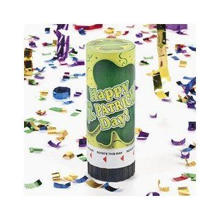 ST PAT'S PARTY POPPER (1 DOZEN)   BULK: Toys & Games