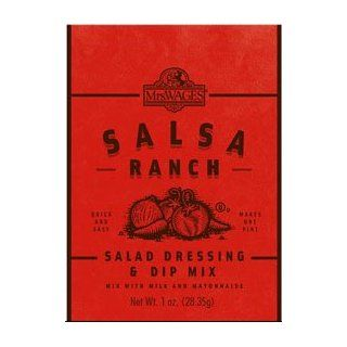 Mrs. Wages Salsa Ranch Salad Dressing & Dip Mix  Grocery & Gourmet Food