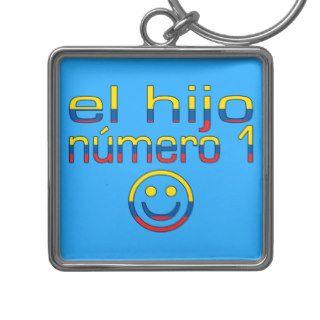El Hijo Número 1   Number 1 Son in Ecuadorian Key Chains