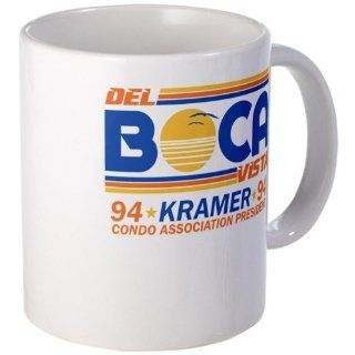 Seinfeld Boca College Humor Mug Mug by  Kitchen & Dining