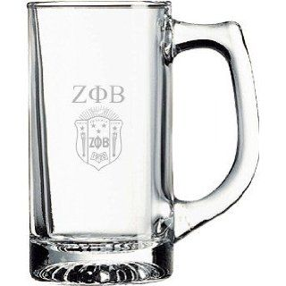 Zeta Phi Beta Glass Engraved Mug: Everything Else