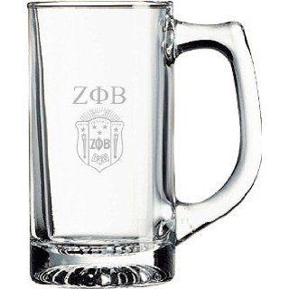 Zeta Phi Beta Glass Engraved Mug: Everything Else