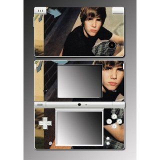 Justin Bieber My World Album Video Game Viny Decal SKIN Protector Cover for Nintendo DSi Video Games