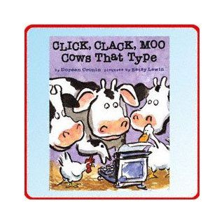Click, Clack, Moo Cows That Type by Doreen Cronin   Hardcover: Toys & Games