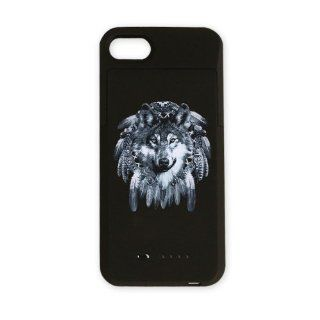 iPhone 4 or 4S Charger Battery Case Wolf Dreamcatcher: Everything Else