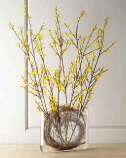 Faux Forsythia Arrangement   John Richard Collection
