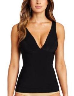 Nearly Nude Women's Firming Microfiber Camisole at  Women�s Clothing store: Shapewear Tops