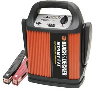 Black & Decker START IT VEC012CBD 450 Amp Jump Starter/Inflator: Automotive