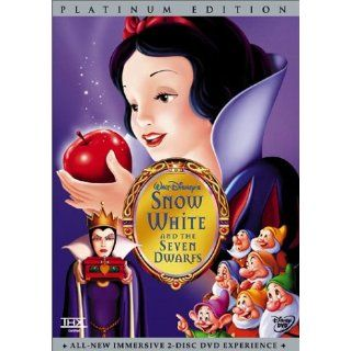 Snow White and the Seven Dwarfs (Disney Special Platinum Edition): Adriana Caselotti, Harry Stockwell, Lucille La Verne, Roy Atwell, Stuart Buchanan, Hall Johnson Choir, Eddie Collins, Pinto Colvig, Marion Darlington, Billy Gilbert, Otis Harlan, Scotty Mat