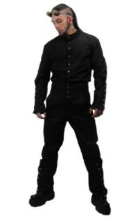 Necessary Evil Chronus Mens Steampunk Trousers at  Men�s Clothing store: Pants