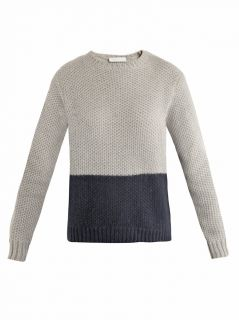 Bi colour waffle knit sweater  Richard Nicoll  MATCHESFASHIO