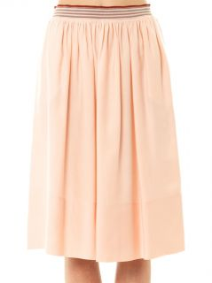Lucy washed silk blend midi skirt  Stella McCartney  MATCHES