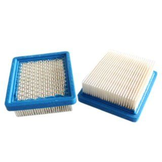 New Pack of 2 Air Filter fit for Tecumseh 36046 740061 and Fits 4 & 5.5 Hp Engines Oh95, Oh195, Ohh50, Ohh55, Ohh60, Ohh65, Vlv50, Vlv55, Vlv60, Vlv66 and Vlv126 Replace Stens 100 450 : Patio, Lawn & Garden