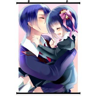 Uta No Prince Sama Anime Wall Scroll Poster Hijirikawa Masato Hijirikawa Mai(16''*24'')support Customized   Prints