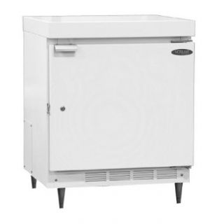 "Nor Lake Scientific NSLR041WMW/0M Galvanized Steel Painted White Manual Defrost Undercounter Refrigerator with Solid Door, 115V, 60Hz, 4.6 cu ft Capacity, 23 7/8"" W x 35 1/4"" H x 25"" D, 2 to 8 Degree C: Science Lab Refrigerators: Industrial"