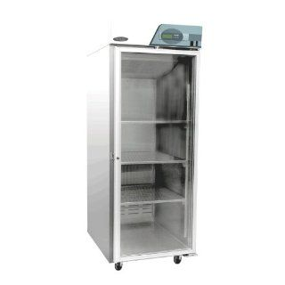 "Nor Lake Scientific NSWC211SSS/0 Select Stainless Steel Premier Blanket Warming Cabinet with Glass Door, 115V, 60Hz, 21 cu ft Capacity, 27 1/2"" W x 74 3/4"" H x 35 1/2"" D, 90 to 160 Degree F: Science Lab Ware: Industrial & Scientific"