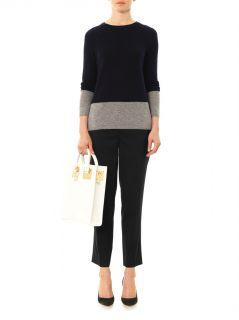 Colour block cashmere sweater  Vince