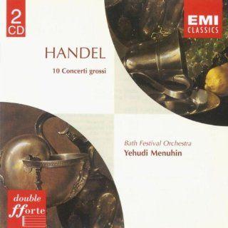 Handel Concerti Grossi Op. 6 Nos. 1 10 Various artists