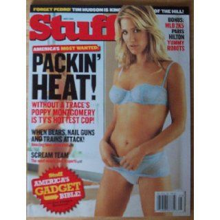 Stuff Magazine: Poppy Montgomery Cover (May 2005): VARIOUS AUTHORS: Books